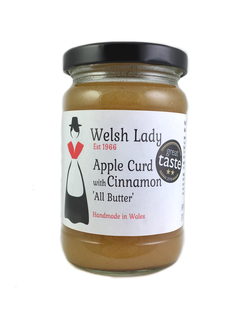 Apple & Cinnamon Curd 311g